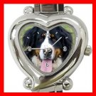 Bernese Mountain Dog Pet Hobby Italian Charm Wrist Watch 065