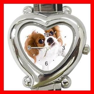 Cavalier King Charles Spaniel Dog Pet Hobby Italian Charm Wrist Watch 067