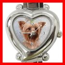 Cairn Terrier Dog Pet Hobby Italian Charm Wrist Watch 068