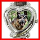 German Shepherd Dog Pet Hobby Italian Charm Wrist Watch 070