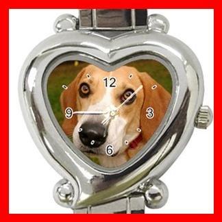 Foxhound Dog Pet Hobby Italian Charm Wrist Watch 072