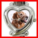 Golden Retriever Dog Pet Hobby Italian Charm Wrist Watch 077
