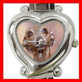 Italian Greyhound Dog Pet Hobby Italian Charm Wrist Watch 079