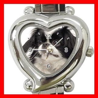 Japanese Chin Dog Pet Hobby Italian Charm Wrist Watch 081
