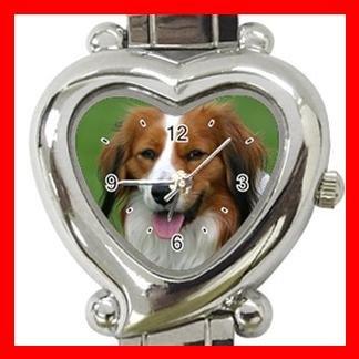Kooikerhondje Dog Pet Hobby Italian Charm Wrist Watch 084
