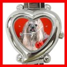 Lhasa Apso Dog Pet Hobby Italian Charm Wrist Watch 085