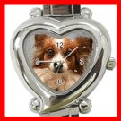 Papillon Dog Pet Hobby Italian Charm Wrist Watch 086