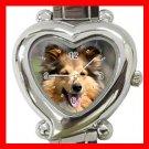 Shetland Sheepdog Dog Pet Hobby Italian Charm Wrist Watch 093