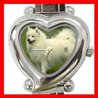 Spitz Dog Pet Hobby Italian Charm Wrist Watch 094