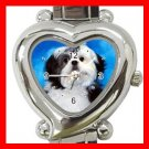 Shih Tzu Dog Pet Hobby Italian Charm Wrist Watch 095