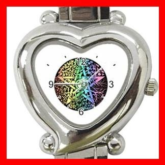 Pentagram Pentacle Seasons Heart Italian Charm Wrist Watch 133