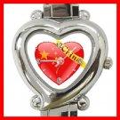 China Heart Love Heart Italian Charm Wrist Watch 139