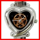 WICCA WICCAN PAGANl Heart Italian Charm Wrist Watch 147