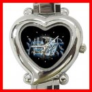 Tiger Dragon Yin Yang Heart Italian Charm Wrist Watch 149