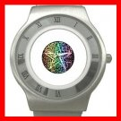 Pentagram Pentacle Seasons Stainless Steel Wrist Watch Unisex 012