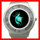 Kokopelli Kokopele Love Stainless Steel Wrist Watch Unisex 019