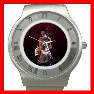 Asia Dragon Lady Myth Stainless Steel Wrist Watch Unisex 024