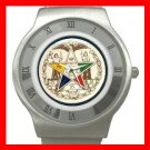 Order of the Eastern Star Stainless Steel Wrist Watch Unisex 040