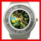 Big Belly Sea Horse Stainless Steel Wrist Watch Unisex 059