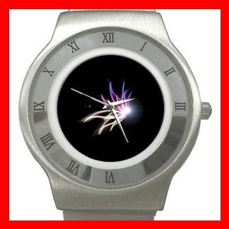 The Light of Butterfly Stainless Steel Wrist Watch Unisex 076