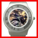 Black Dragon Myth Stainless Steel Wrist Watch Unisex 078