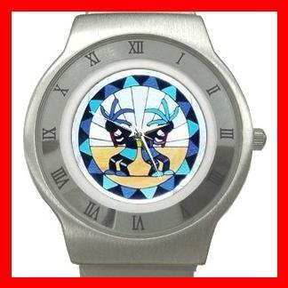 Kokopelli Kokopele Love Stainless Steel Wrist Watch Unisex 082