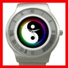 Yin Yang Chinese Myth Fun Stainless Steel Wrist Watch Unisex 107