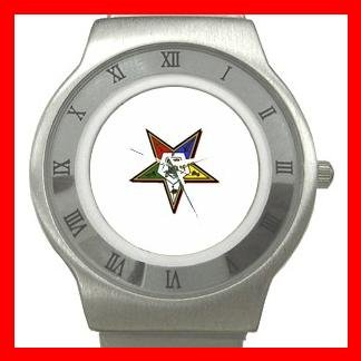 Order of the Eastern Star Stainless Steel Wrist Watch Unisex 112