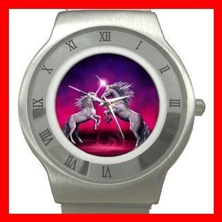 Unicorn Dance Myth Stainless Steel Wrist Watch Unisex 115