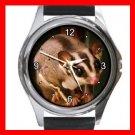 Sugar Glider Animal Cute Metal Wrist Watch Unisex 014