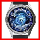 Dolphins Flying Earth Metal Wrist Watch Unisex 021