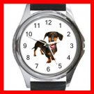 Dachshund Dog Pet Animal Round Metal Wrist Watch Unisex 035