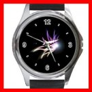 The Light Of Butterfly Round Metal Wrist Watch Unisex 064