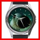 Australian Sea Lion Round Metal Wrist Watch Unisex 079