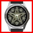 WICCA WICCAN PAGAN Round Metal Wrist Watch Unisex 083