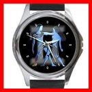 Gemini Zodiac Hobby Round Metal Wrist Watch Unisex 095