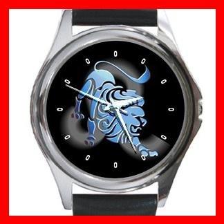 Leo Zodiac Hobby Round Metal Wrist Watch Unisex 096