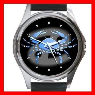 Cancer Zodiac Hobby Round Metal Wrist Watch Unisex 098