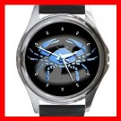 Cancer Zodiac Hobby Round Metal Wrist Watch Unisex 098