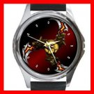 The Cerberus Blade Round Metal Wrist Watch Unisex 101