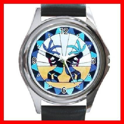 Kokopelli Kokopele Love Round Metal Wrist Watch Unisex 103