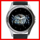 Tiger and Dragon Yin Yang Round Metal Wrist Watch Unisex 109
