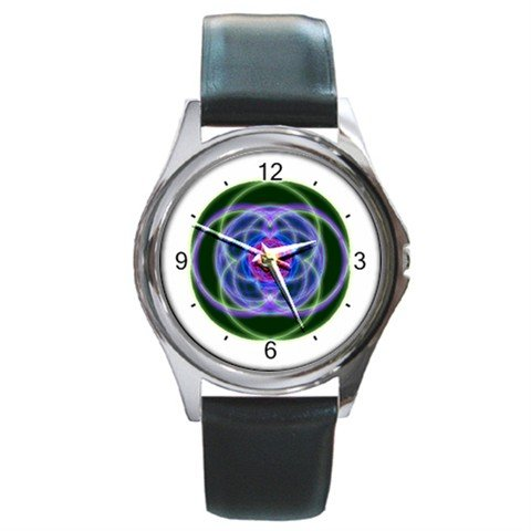 The Ratios of Musical Notes Hobby Round Metal Wrist Watch Unisex 114