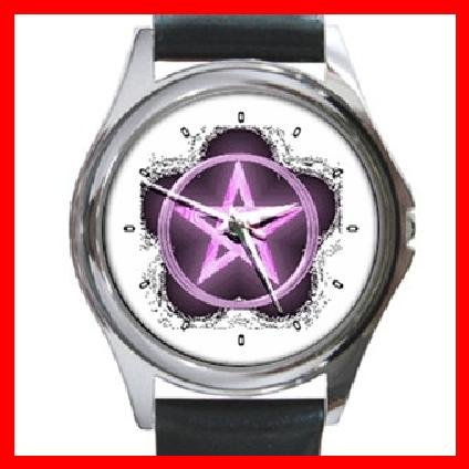 The Wiccan Rede Round Metal Wrist Watch Unisex 129