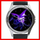 Blue Dragon Myth Fantasy Round Metal Wrist Watch Unisex 131