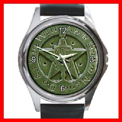The Wiccan Rede Round Metal Wrist Watch Unisex 132