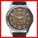 AZTEC Art Ancient History Round Metal Wrist Watch Unisex 137