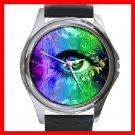 Eye Art Round Metal Wrist Watch Unisex 141