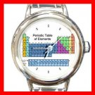 PERIODIC TABLE Chemist Scientist Round Italian Charm