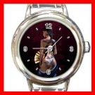 Dragon Lady Asia Myth Round Italian Charm Wrist Watch 526